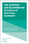 Jacket Image For: The Austrian and Bloomington Schools of Political Economy