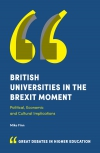 Jacket Image For: British Universities in the Brexit Moment