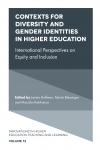 Jacket Image For: Contexts for Diversity and Gender Identities in Higher Education