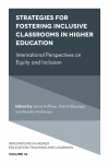 Jacket Image For: Strategies for Fostering Inclusive Classrooms in Higher Education