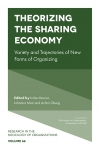 Jacket Image For: Theorizing the Sharing Economy