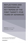 Jacket Image For: Reflections and Extensions on Key Papers of the First Twenty-Five Years of Advances