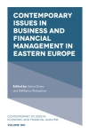 Jacket Image For: Contemporary Issues in Business and Financial Management in Eastern Europe