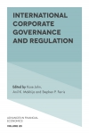 Jacket Image For: International Corporate Governance and Regulation