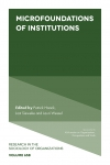Jacket Image For: Microfoundations of Institutions
