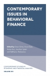 Jacket Image For: Contemporary Issues in Behavioral Finance