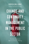 Jacket Image For: Change and Continuity Management in the Public Sector