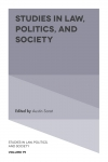 Jacket Image For: Studies in Law, Politics, and Society