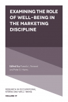 Jacket Image For: Examining the Role of Well-Being in the Marketing Discipline
