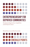 Jacket Image For: Entrepreneurship for Deprived Communities