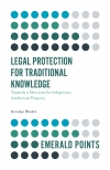 Jacket Image For: Legal Protection for Traditional Knowledge