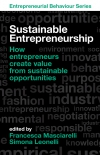 Jacket Image For: Sustainable Entrepreneurship