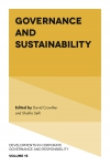 Jacket Image For: Governance and Sustainability
