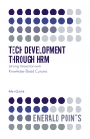 Jacket Image For: Tech Development through HRM