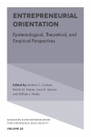 Jacket Image For: Entrepreneurial Orientation