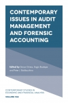 Jacket Image For: Contemporary Issues in Audit Management and Forensic Accounting