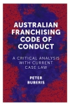 Jacket Image For: Australian Franchising Code of Conduct