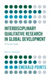 Jacket Image For: Interdisciplinary Qualitative Research in Global Development