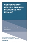 Jacket Image For: Contemporary Issues in Business, Economics and Finance