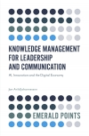 Jacket Image For: Knowledge Management for Leadership and Communication