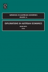Jacket Image For: Explorations in Austrian Economics