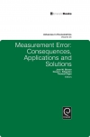 Jacket Image For: Measurement Error