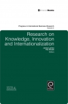 Jacket Image For: Research on Knowledge, Innovation and Internationalization