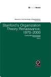 Jacket Image For: Stanford's Organization Theory Renaissance, 1970-2000